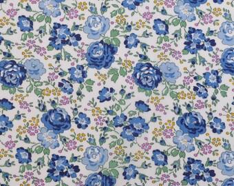 2017 Classic print, Liberty Tana Lawn Felicite - 5'' x10'' piece - blue, pink, green