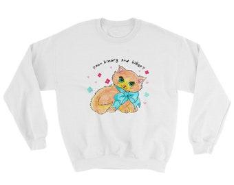 Non binary and bitter Sweatshirt