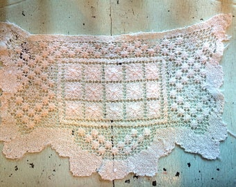Vintage Crocheted Linen