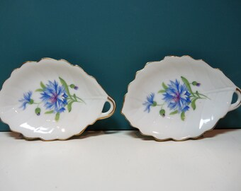 2 Rossetti Meadow Belle hand painted dishes