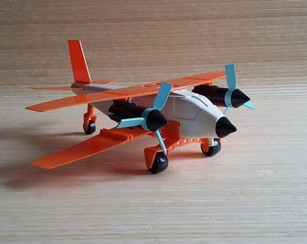 Airplane Toy Vintage USSR Aircraft Model Airplane Plane Air Force Toy Kit Soviet Vintage Toy 1980s