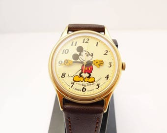 Lorus Mickey Mouse V515-6118 Quartz Watch