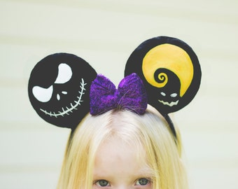 Nightmare Before Christmas Mickey Ears