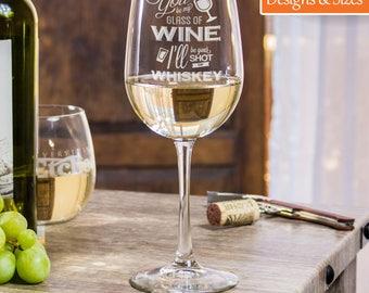 Custom Wine Glasses, Funny Wine Glasses, Bachelorette Wine Glass, Wedding Wine Glass, Glass With Initials, Birthday Party Glasses