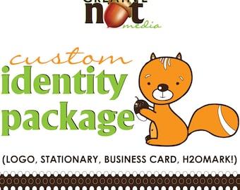 Custom Identity Package Design - Logo, Stationary, Watermark, Business Card