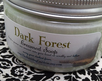 Creamed Soap - Dark Forest - Creamed Soap - Bath Whip - Whipped Soap