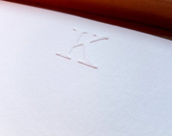 Custom Embossed Stationery | Personalized Notecards
