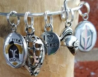Las Vegas Knights wire bracelet