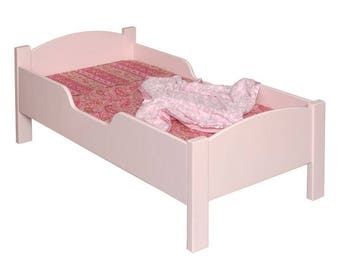 Little Colorado Traditional Toddler Bed - Painted