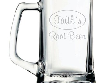 Personalized Root Beer Mug