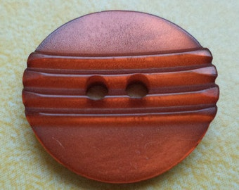 12 red brown buttons 14mm 18mm (6638 6632)