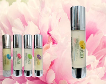 Unica Cosmetics - Radiance Plus organic and 100% natural face cream with Prebiotics and Rosehip oil for normal to dry skin