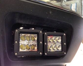 99-08 Chevrolet LED Pod Fog Lamp Brackets