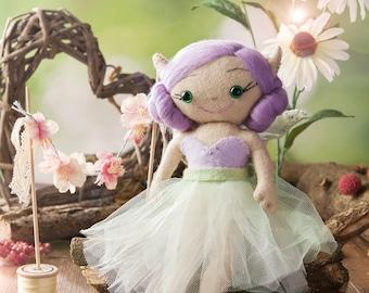 Felt Fairy Sewing Kit Lileth -DIY