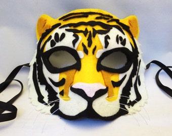 Felt Tiger Chibi Mask Digital File