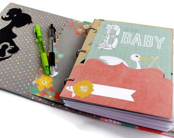 Pregnancy Memory Book - Pregnancy Journal - Pregnancy Scrapbook - Baby Bump Book - Maternity Tracker - Pregnancy Countdown - Pregnancy Diary