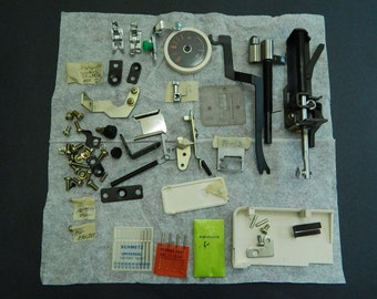 Lot of Sears Kenmore Sewing Machine Parts (1993 4-Stitch Model 385 1158 180)