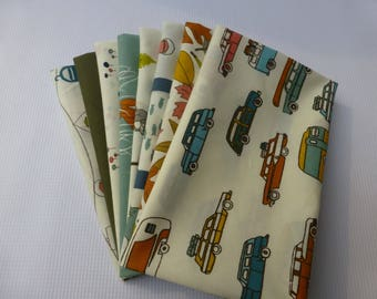 Fat Quarter Bundle - Birch Fabrics Camp Sur 3, 8 Fat Quarters