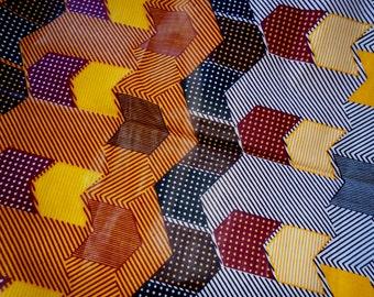 African Java Wax Print, by the Half Yard