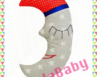 LuellaBaby Coussin Lune
