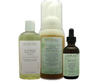 Balance & Brighten Skincare Kit 3 pcs - All-Natural - Organic