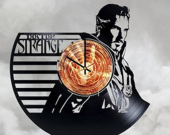 Doctor Strange Gift Vinyl Record Wall Clock