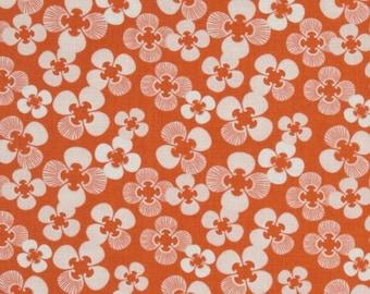 GOOD FORTUNE by MODA FABRICS orange patchwork fabric