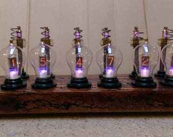 The 'Tesla Meets Edison' Nixie Clock