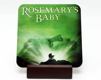 Rosemarys Baby Coaster Rosemarys Baby Drink Coaster Horror Coaster Horror Drink Coaster Horror Decor Kitchen Decor