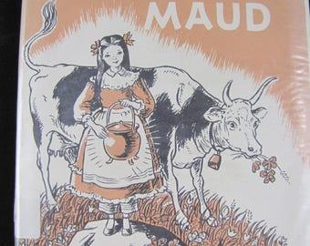 Caroline and Her Kettle Named Maud // 1967 Hardback // Pioneer Girl Story // Scarce copy