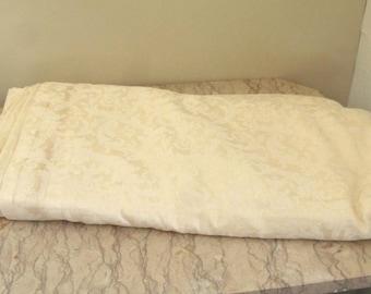 large piece of vintage Italian linen damask
