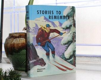 Stories To Remember Basic Reader Book Vintage 1956 Schoolbook