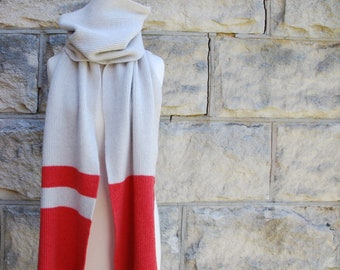 Super long scarf in superfine merino blend
