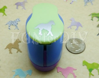 20x20mm large size paper punch -- horse