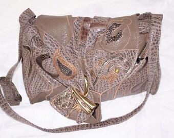 Vintage NAS BAG 80's Purse Handbag