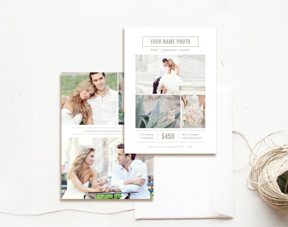 Instant Download Photography Flyer Design Mini Session
