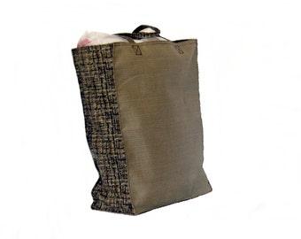 Shopping Bags, Tote Bag, Canvas,  Reusable, Brown