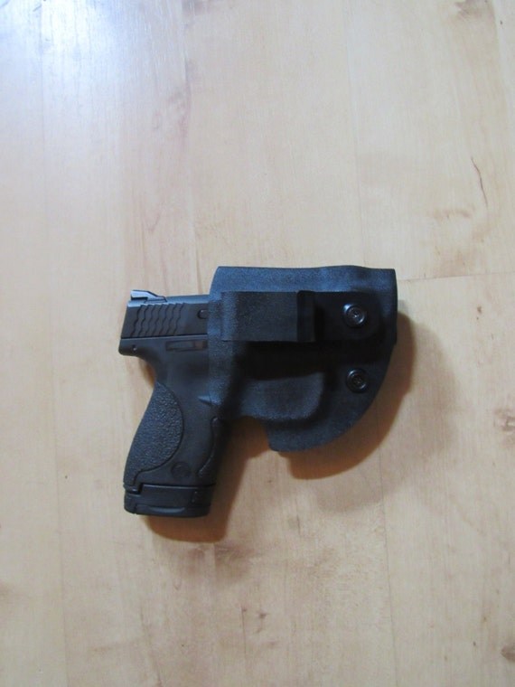 Holster for M&P Shield, Kydex Holster, this is our signature Lil' Tucker for EDC,  IWB