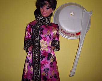 Vintage Barbie Dolls Of The World Chinese Doll