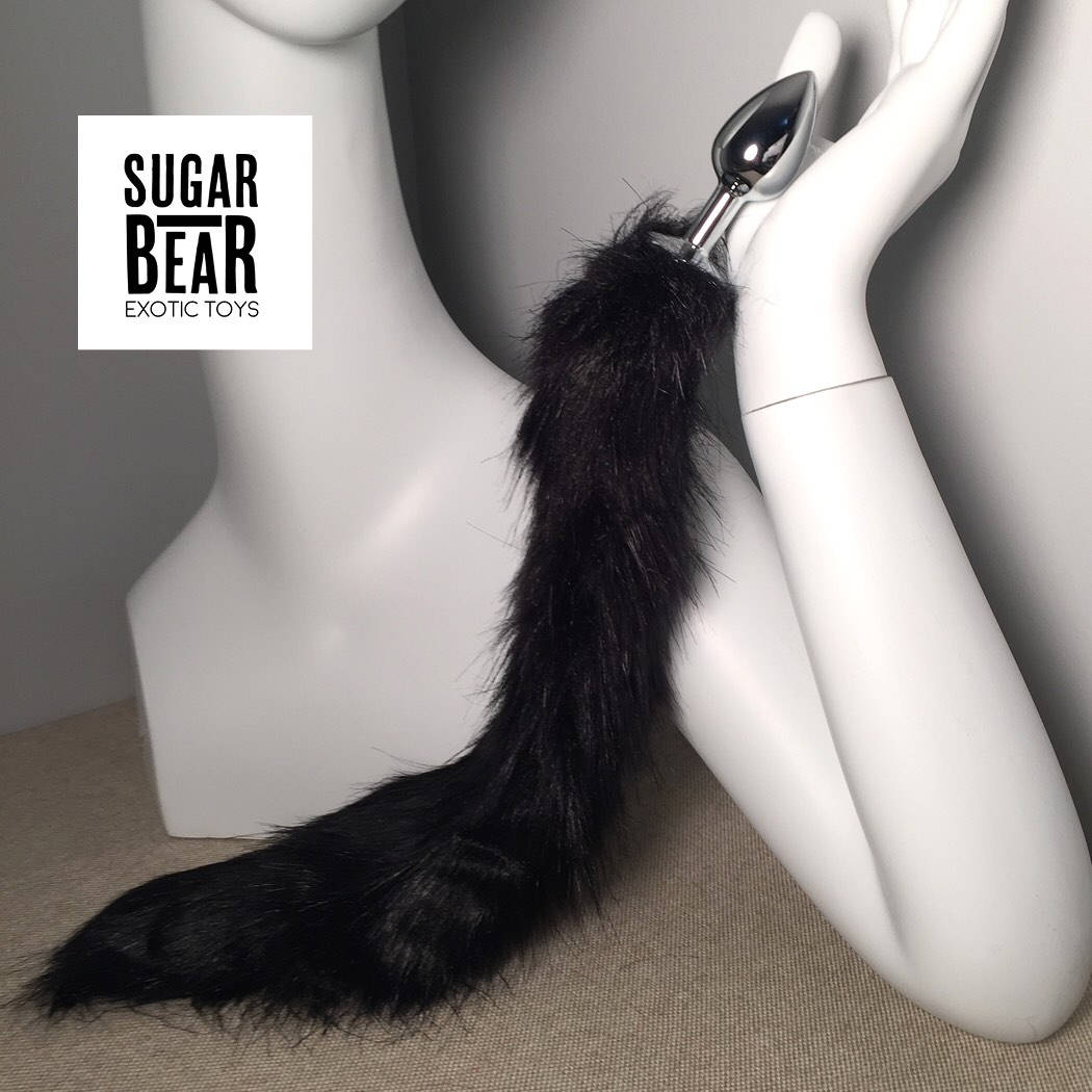 butt plug tail / made to order / mature / pick your size /