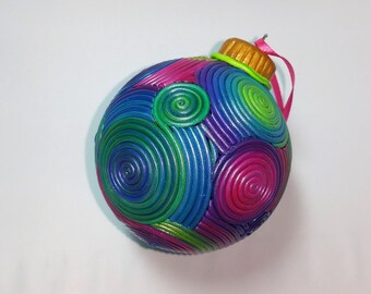 Polymer Clay Filigree Ornament