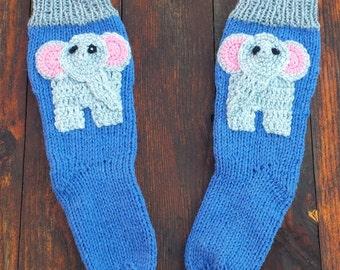 Elephant Socks Etsy