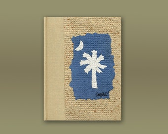 Handbound  Journal South Carolina Flag
