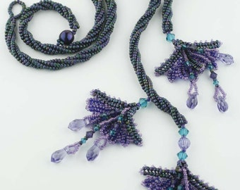 Beading Tutorial - Fandango Flowers Necklace