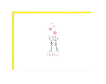 Cute Love Card, Cute Anniversary Card for Wife, Gift for Boyfriend Anniversary Card, Valentine Card, Valentines Day Card for Husband Gift