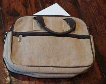Jute, Eco Friendly  Stylish Laptop Bag