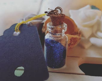 Bag magic bottle jewelry, Keychain