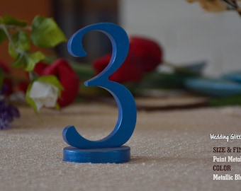 DIY 1-10 Wood Table Numbers and Wedding Signs
