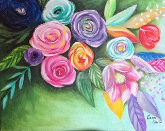 Flowers in depth