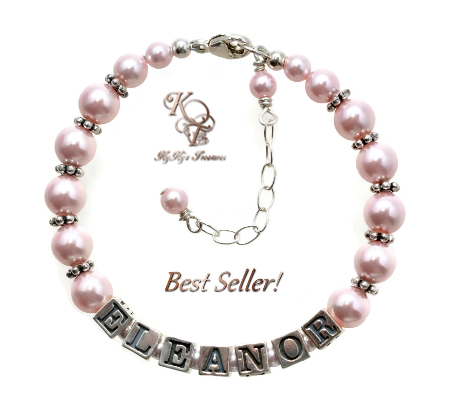 little girl jewelry personalized baby bracelet baby jewelry. Black Bedroom Furniture Sets. Home Design Ideas